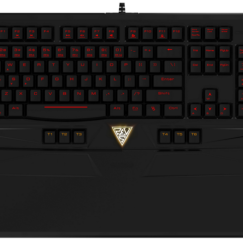 The Ourea mouse, included in Gamdias' Ares Essential Gaming Gear Combo has one thumb button on each side.