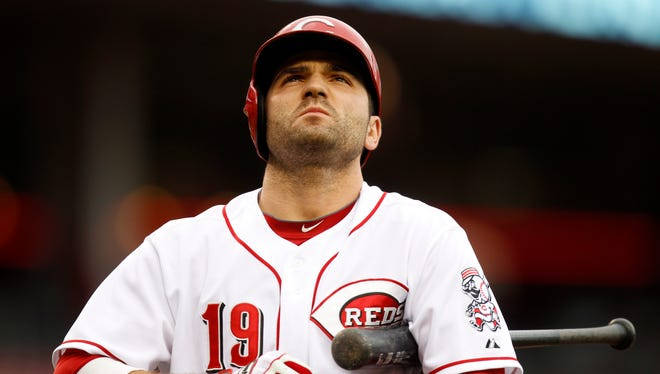 Reds first baseman Joey Votto in May.