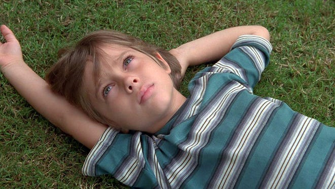 Ellar Coltrane, here at age 6, grows up on screen during the 12-year shooting schedule of 'Boyhood.'