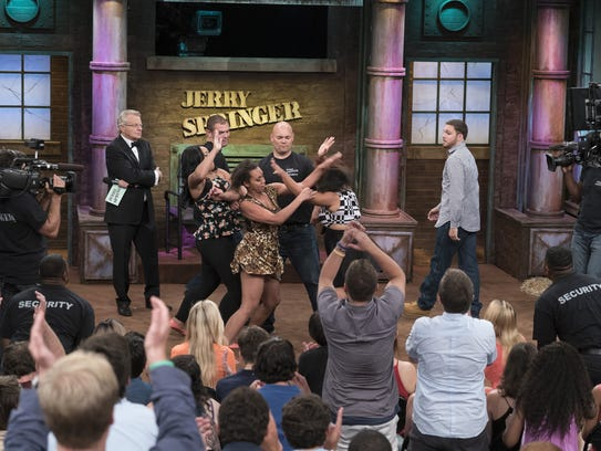 Jerry Springer, 71, tapes his 25th anniversary program