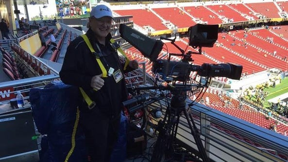 Bob Smith at Super Bowl 50, which was held at Levi's