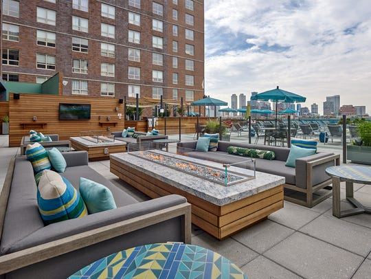 In addition to its infinity edge pool, Soho Lofts'