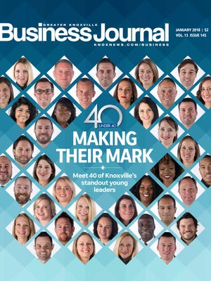 The Knoxville Business Journal 40 Under 40 Class of 2017.