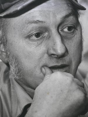Larry Thompson in 1987. TIMES FILE PHOTO
