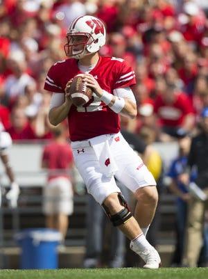 Wisconsin quarterback Alex Hornibrook ripped apart MSU last Saturday in his first start.