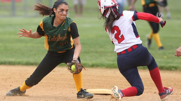 Lakeland defeated Eastchester 15-5 in the Section 1 Class A softball championship at North Rockland High School  May 27, 2017.