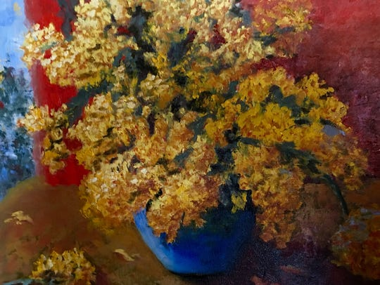 """Bonnard's Bouquet"" by Phyllis Davis."