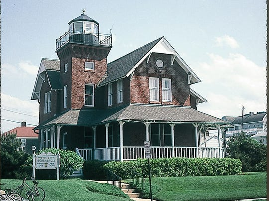 Sea Girt's lighthouse, in the style of a Victorian home, is beautifully restored. (Courtesy The New Jersey Office of Travel & Tourism/Allentown Morning Call/MCT