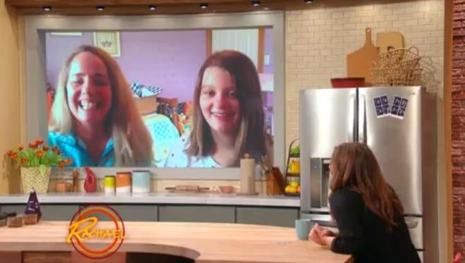 """Tania and Lia Haile appear on the """"Rachael Ray Show"""" via Skype."""