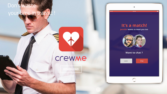 airline crew dating website