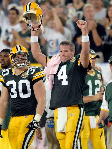 Brett Favre Returns Green Bay Packers Welcome Home A Legend