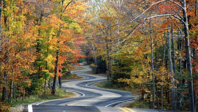Highway 42 zigs and zags to the tip of the Door County peninsula near Northport.