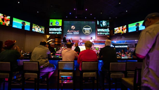 Resorts World Catskills opened its Sportsbook 360 in September. The Sullivan County casino is counting on a big day this Sunday for the Super Bowl.