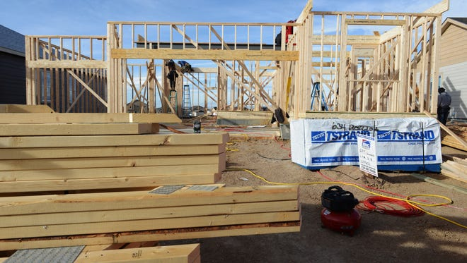 New home construction continues at a fevered pitch throughout Larimer County even as construction workers are in short supply.