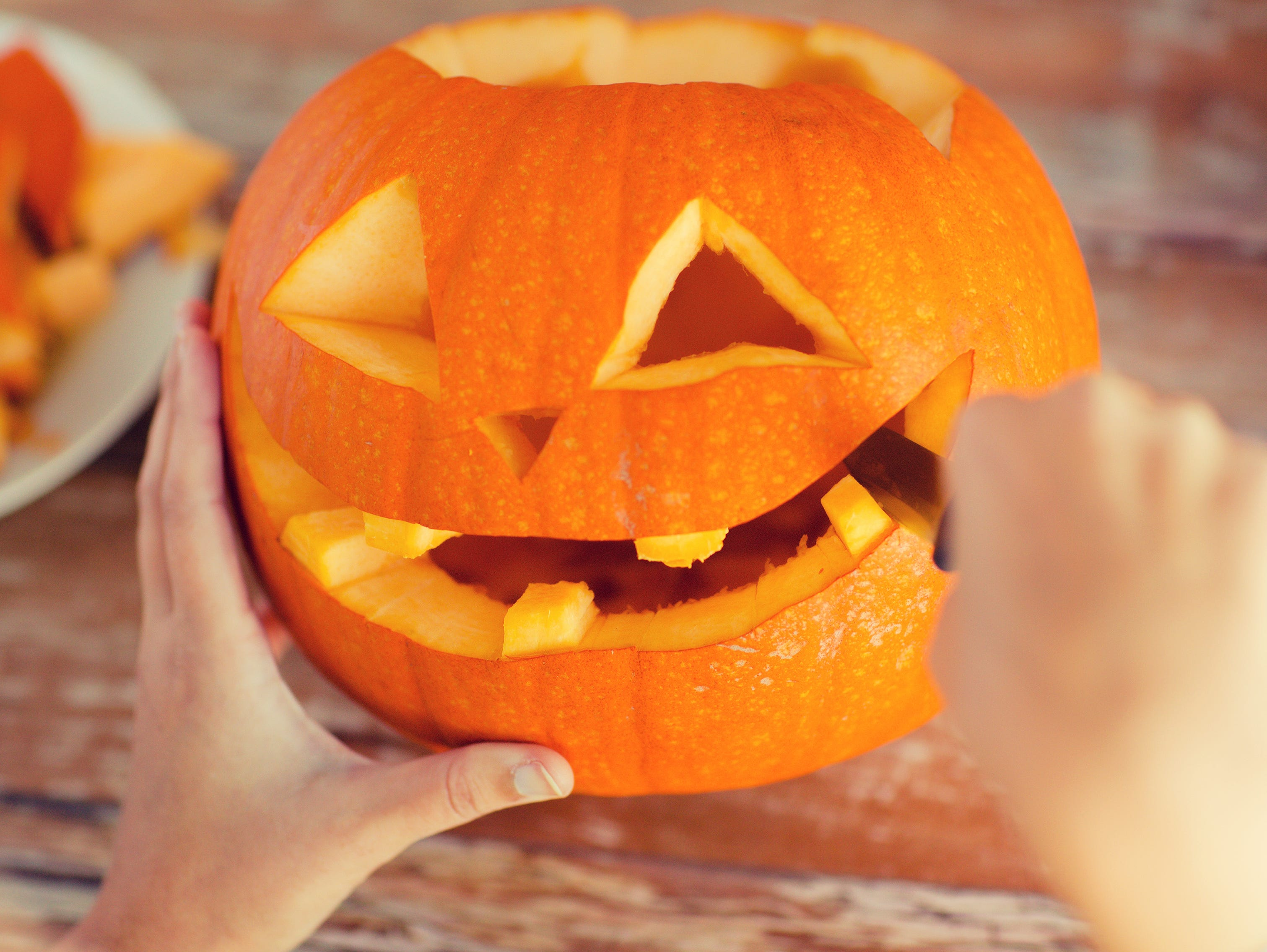 Submit a photo of your carved pumpkin  for a chance to win a sweet prize.