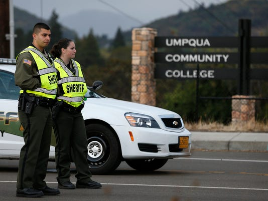 AP OREGON SCHOOL SHOOTING A USA OR