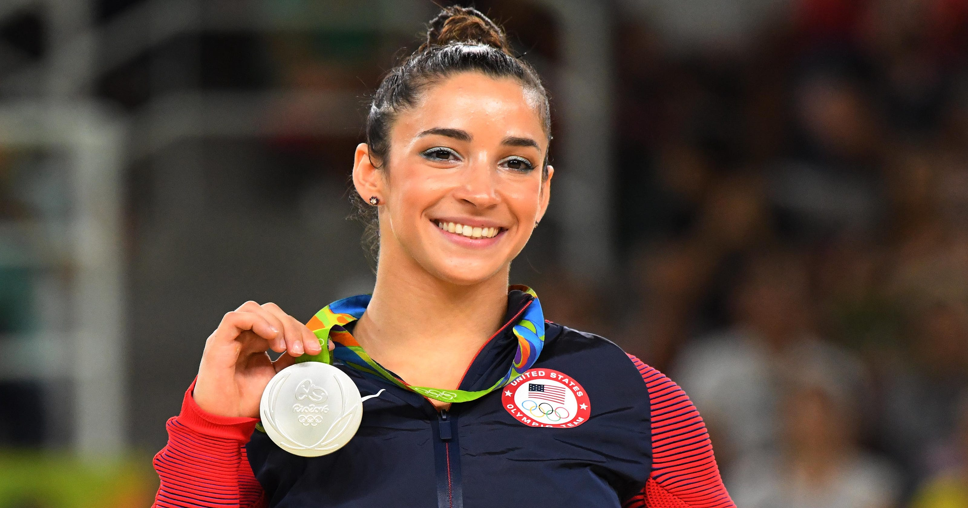 Aly Raisman says she was criticized for posing nude in