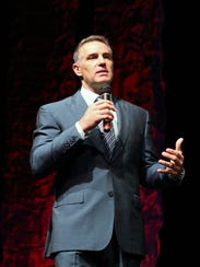 Hall of Famer Kurt Warner speaks Saturday at the Civic