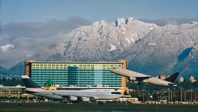 At the Fairmont Vancouver Airport, extra attention to door seals and a reduced number of connecting rooms helps keep noise down.