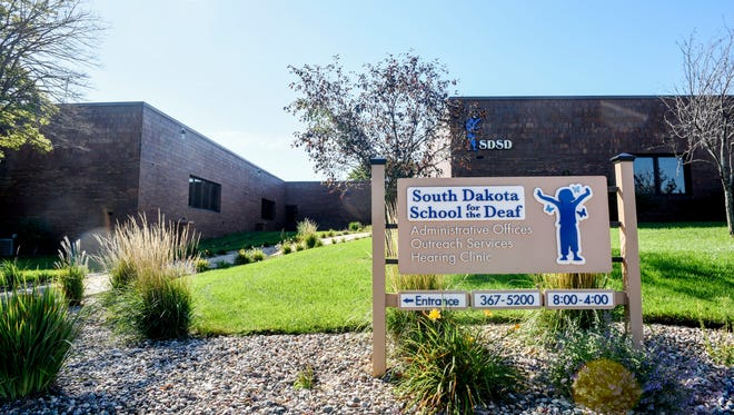 The campus of the South Dakota School for the Deaf on Wednesday, Sept. 27, 2018.  The fate of the campus in Sioux Falls is unclear as the Board of Regents decides whether or not to sell the property.