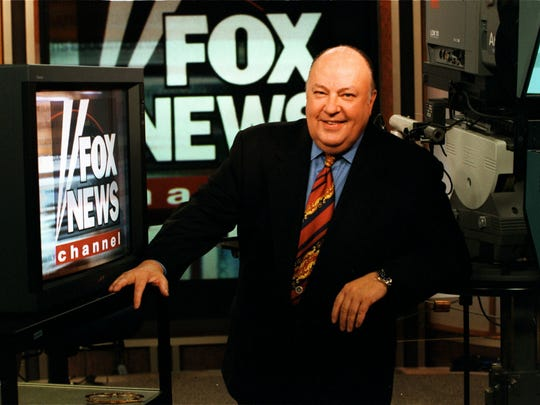 The real Fox News CEO Roger Ailes in 1996.