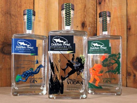 Dogfish Head spirits (Dogfish Head Distilling Co.,