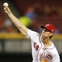 Michael Lorenzen has thrown seven pitches that were 98 mph or better this season, all coming as a relief pitcher.