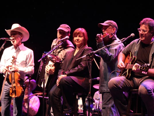 """Ranger Doug"" Green, Jeff Taylor, Dawn Sears, Joe Spivey, Vince Gill"