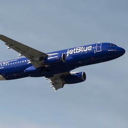 JetBlue paints Airbus A320 in colors of New York City police