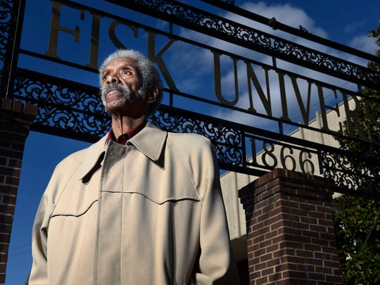 Matthew Walker, a 1962 Fisk University graduate, participated in sit-ins at Nashville's downtown lunch counters. He also traveled to Alabama to bolster the Freedom Rides. He was arrested and got his teeth knocked out in a riot.