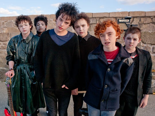 The band of young rockers in 'Sing Street' give themselves