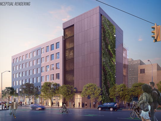 Conceptual rendering for 1922 Cass Avenue
