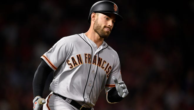 Mac Williamson hit homers in three of his first five games.