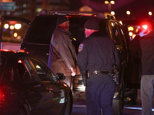 Wilmington police investigate after a man was found with a gunshot wound on Martin Luther King Boulevard near Justison Street shortly after 10 p.m. Friday.