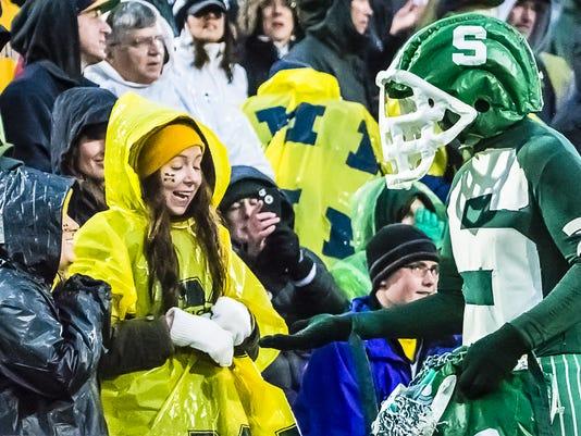 MSU vs Michigan Football