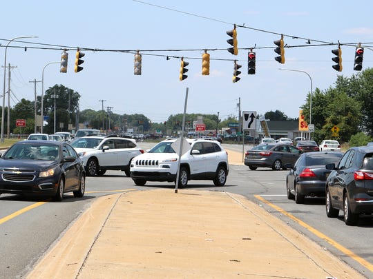 A $6 million project projected to begin in the spring to slip-line existing sewer pipe in the median along 2.8 miles of U.S. 13 will affect the turn lanes closest to the median most, Kent County officials say.