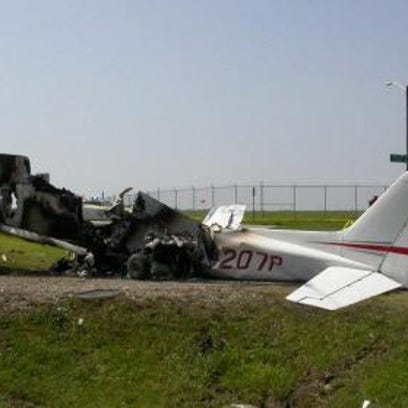 William Felten, 19, of Saginaw, died on August 25, 2014, when the plane he was piloting crashed off Cuyahoga County Airport in Ohio.