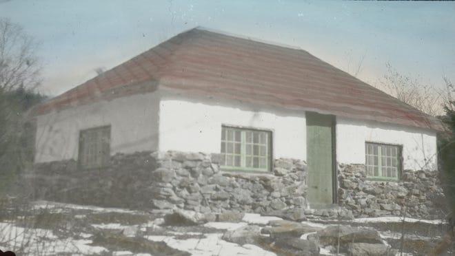 Historic color slide of Bolton Lodge.