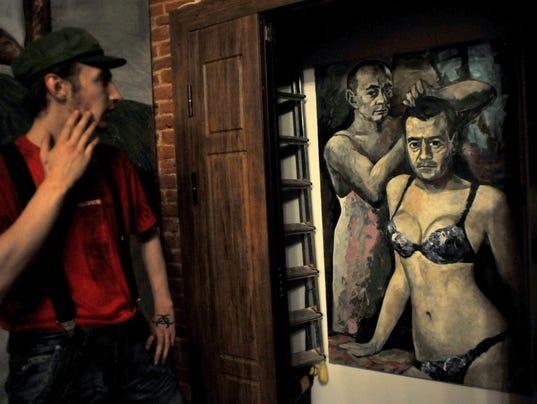 Putin painting