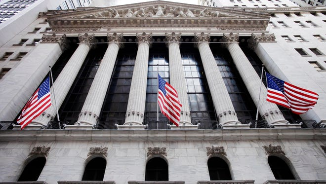 The New York Stock Exchange in New York City in 2011.