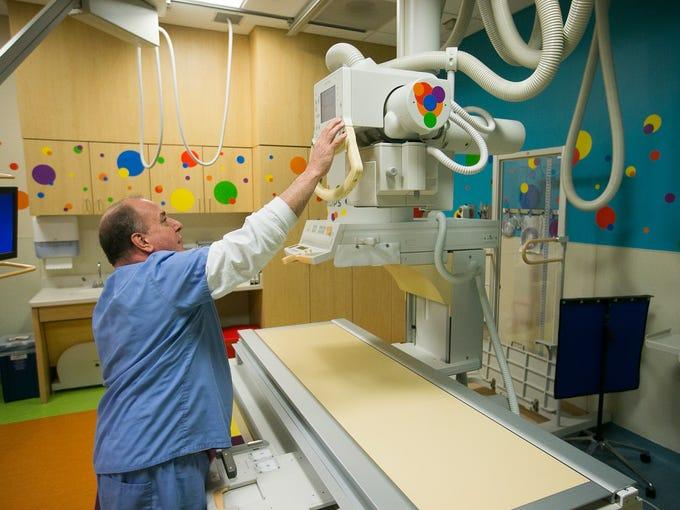 Rich Natoli works at Phoenix Children's Hospital's