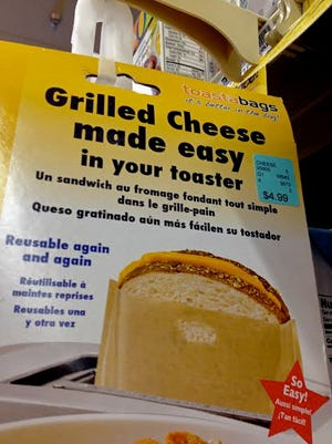 Grilled cheese product in Safeway.