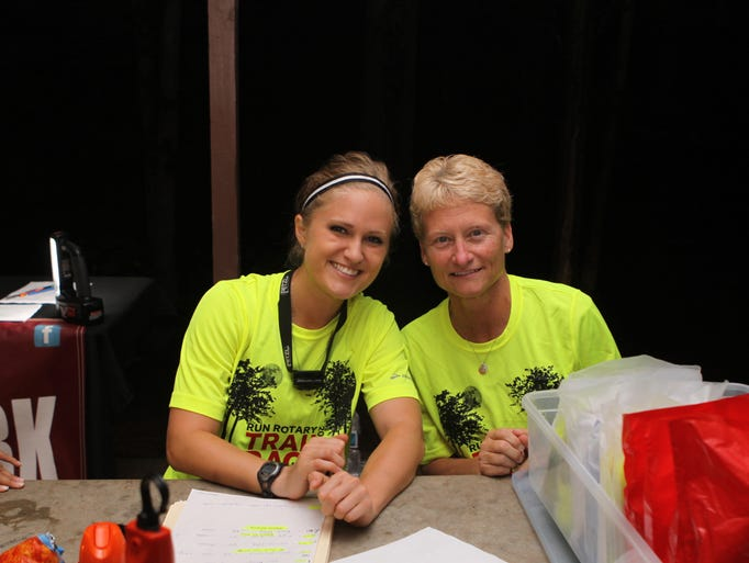 Runner's Hub held their first night trail run at Rotary park on Saturday, attracting over 100 entrants.