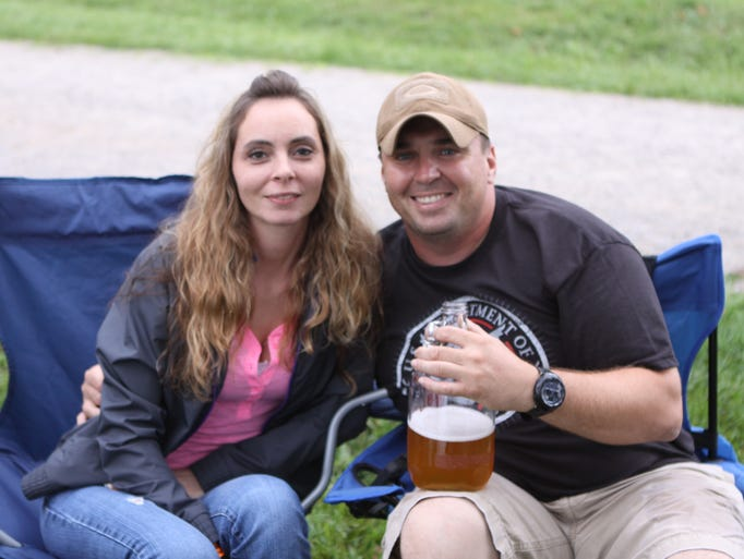 A rainy Saturday night at MB Roland Distillery's Pickin' on the Porch.