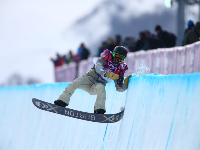 Men's snowboarding at the Sochi Winter Olympics