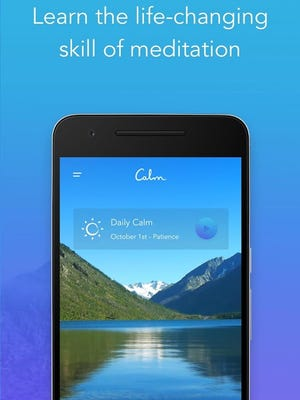 One of the oldest and most used meditation apps, Calm offers hundreds of hours of lessons and exercises.