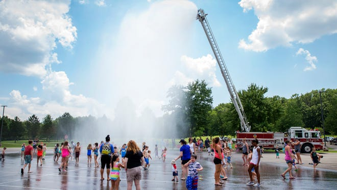 Murfreesboro Parks & Rec.'s Splash Out held at Barfield-Crescent Park.