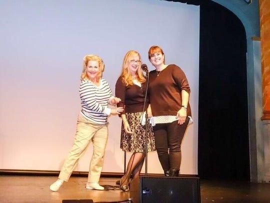 Beaumont Bacon, Joanie Fagan and Stephanie Blum, a.k.a.