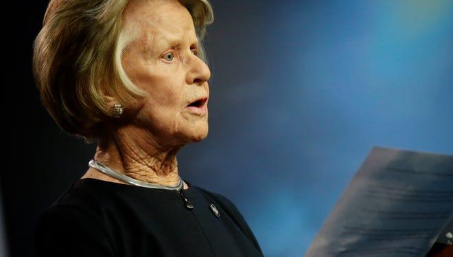 Lions owner Martha Firestone Ford