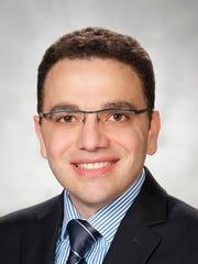 Dr. Tareq Al Bagdhadi, an oncologist at St. Joseph Mercy Hospital in Ann Arbor.